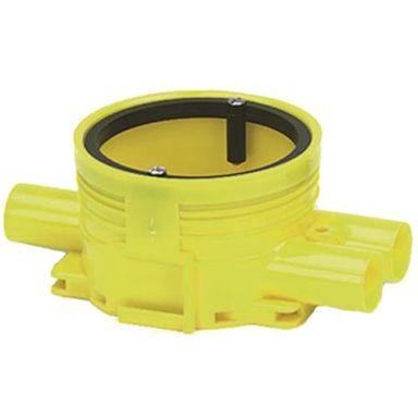 Ed-Wa 1426020-2 Kytkentärasia keltainen, kaksoiskipsi