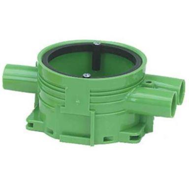 Ed-Wa 1426025-2 Apparatdosa grön, enkelgips