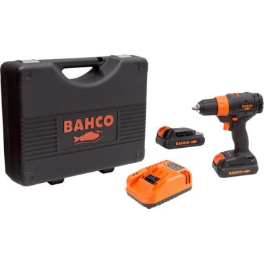 Bahco BCL33D1K1 Bormaskin med 2,0Ah-batterier og lader