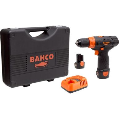 Bahco BCL31D1K1 Bormaskin med 2,0Ah-batterier og lader