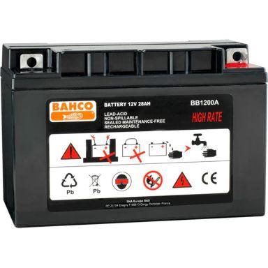 Bahco BB1200A Reservebatteri 12 V, for starthjelp