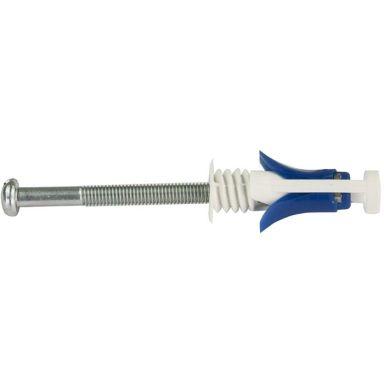 Schneider Electric Duo-Max TSP-10/75 Levykannatin kipsille, sininen, 5 kpl pakkaus