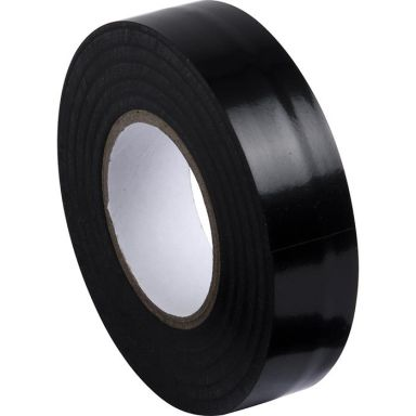 Gelia 050000611 Eltejp 20 m x 19 mm, svart