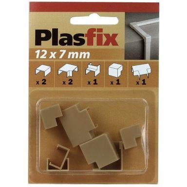 Plasfix 3410-3G Skarv- och hörnbitar till Plasfix, 12 x 7 mm