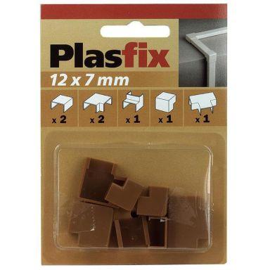 Plasfix 3410-9G Skarv- och hörnbitar till Plasfix, 12 x 7 mm