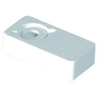 Purus 3810691 Distans enkel, för rör dy. 18-22 mm, vit
