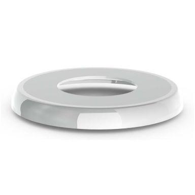 Faluplast 51000 Vulkbricka enkel, rund, vit