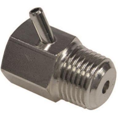 Ezze 4841003 Luftningsventil för lös nyckel, förnicklad