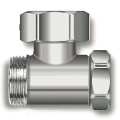 Thermopanel 6606020 Avstängningsventil vinkel, utv. gänga