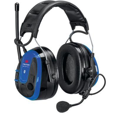3M Peltor WS Alert XPI Hörselskydd Bluetooth & mobilapplikation, hjässbygel