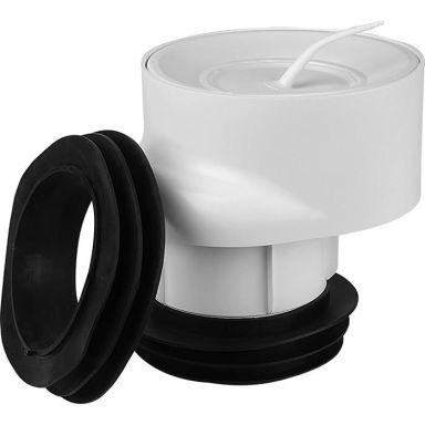 Faluplast 2316850 WC-anslutning 110 mm, med packning och huv