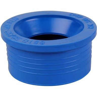 Faluplast 3106243 Gumminippel blå, för 50 mm