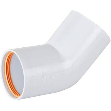 Faluplast 2316167 Böj 50 mm, 45°