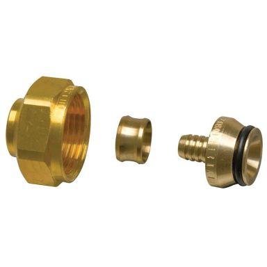 Uponor Minitec 2434388 Kopplingsset 9,9 mm, G20