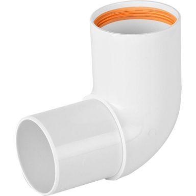 Faluplast 2316169 Böj 50 mm, instick/slätända