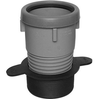 Faluplast Faluexpand Gumminippel svart/grå