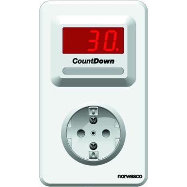 Norwesco CountDown CDOK Skyddstimer elektronisk, med vägguttag