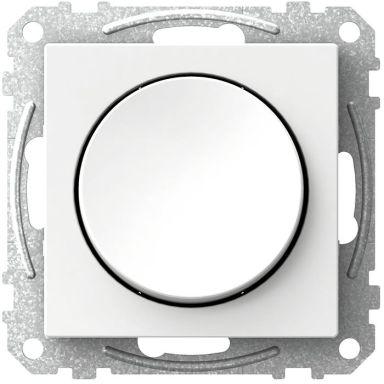 Schneider Electric Exxact WDE002321 Strömbrytare rund vippa, trapp/1-pol, vit