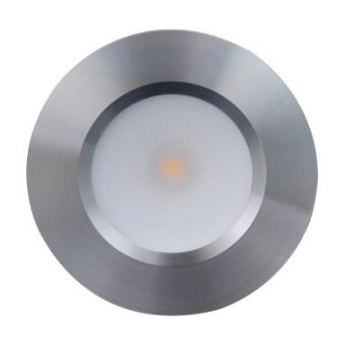 Designlight Q-34A Downlight aluminium, 2000-2800 K