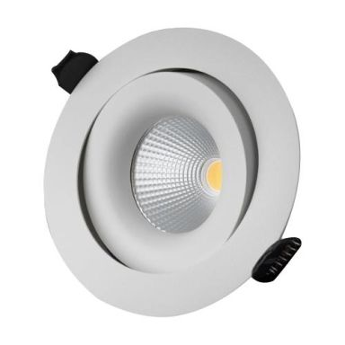 Designlight P-191MW Downlight 11 W, vit, 3000 K