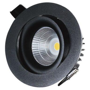 Designlight P-1602530B Downlight svart, 3000 K