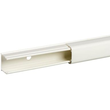 Schneider Electric Optiline 1820 Minikanal PVC, 18 x 20 mm, vit
