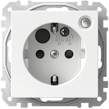 Schneider Electric Exxact WDE002469 Timer med integrerat 1-vägsuttag