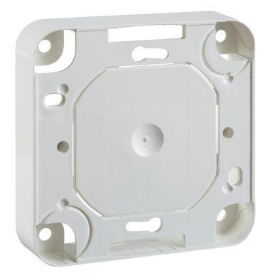 Schneider Electric Trend 183079300 Förhöjningsdosa vit, 18 x 82 mm