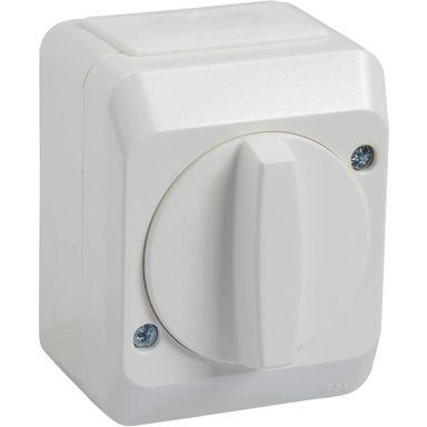 Schneider Electric Aqua Stark 183502200 Kytkin koteloitu kääntömalli, portaat/1-napainen