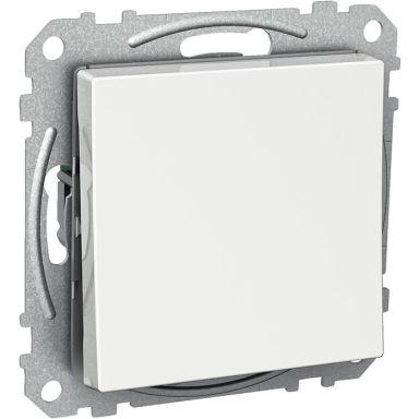 Schneider Electric Exxact WDE002121 Kytkin nelikulmainen keinuvipu, ilman kouria, portaikko/1-napainen