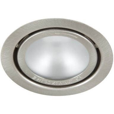 Hide-a-Lite 1202BS Downlight 20 W, matt glas, borstat stål