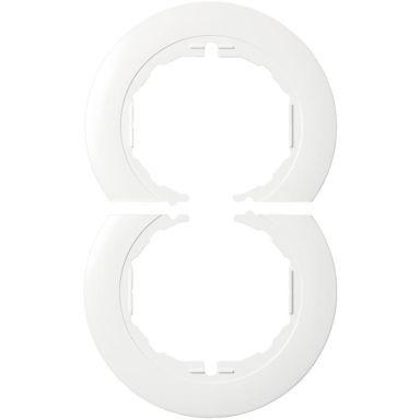 Schneider Electric Renova WDE011501 Tapettisuoja kombi, valkoinen