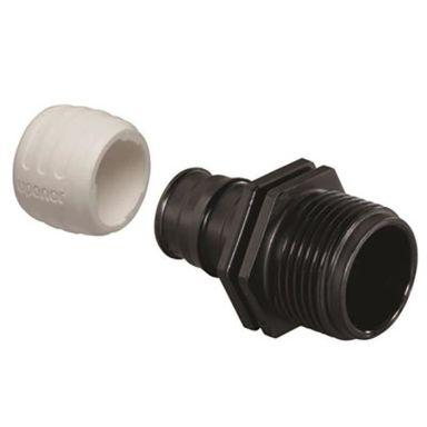 Uponor 1880241 Koppling 25 mm x G3/4, utvändig gänga