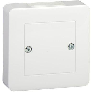 Schneider Electric Exxact WDE002318 Anslutningsdosa vit