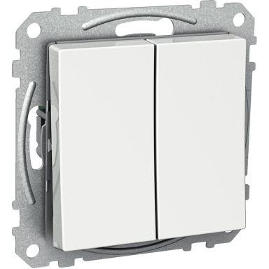 Schneider Electric Exxact WDE002217 Kytkin nelikulmainen keinuvipu, ruuviliitännällä, kr