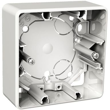 Schneider Electric Exxact WDE002361 Förhöjningsdosa utanpåliggande, 35 mm djup