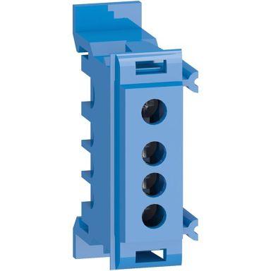 Schneider Electric R9H10955 Nullskinne med 4 tilkoblinger