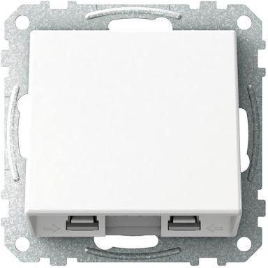 Schneider Electric Exxact WDE002320 Liitäntäkansi valkoinen