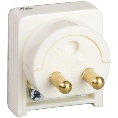Schneider Electric 189518600 Lamppropp ojordad, 2-pol, för sladdmontage