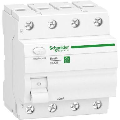 Schneider Electric Resi9 Jordfelsbrytare 4-pol, 40 A