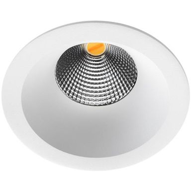 SG Armaturen Isosafe Soft DTW Downlight matt vit, 2800 K