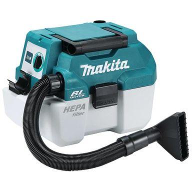 Makita DVC750LZ Dammsugare utan batteri och laddare