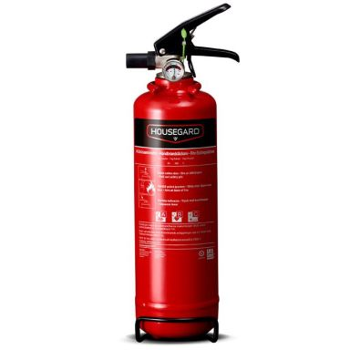 Housegard PE1TGH Brandsläckare pulver, 1 kg, röd