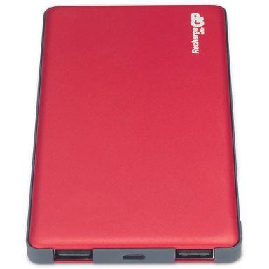 GP Batteries Voyage 2.0 MP05MA Powerbank 5000 mAh, röd
