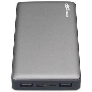 GP Batteries Voyage 2.0 MP15MA Powerbank 15000 mAh, grafitgrå