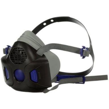 3M Secure Click HF-801SD Halvmaske med talemembran, uten filter