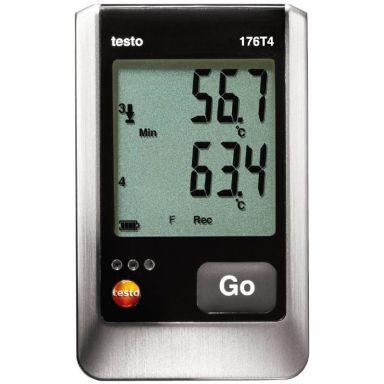 Testo 176 T4 Datalogger temperatur, 4 kanaler