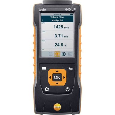 Testo 440 dP Multi-instrument for ventilasjon og inneklima