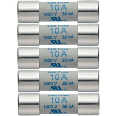 Testo 05900004 Reservsäkringar 10 A/1000 V, 5-pack