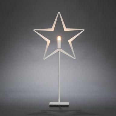 Konstsmide 3549-200 Julstjärna metall, på fot